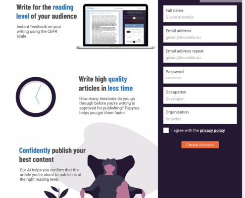 PAPYRUS: WRITE QUALITY ARTICLES IN LESS TIME